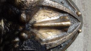 Жаба копилка - нос жабы