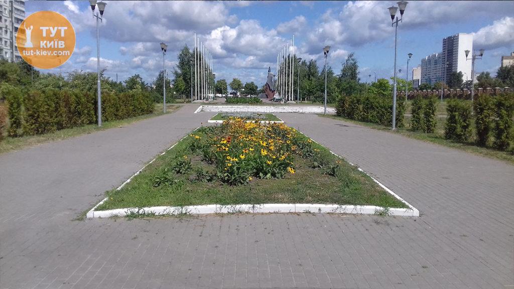 Аллея мемориал Героям Чернобыля