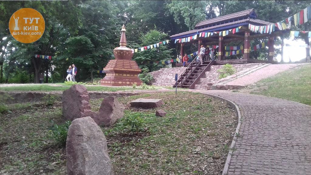 будийская в ботсаду