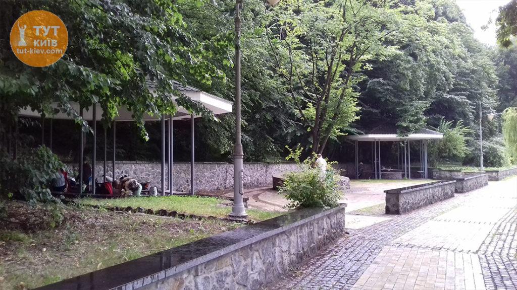 две беседки парк Феофания