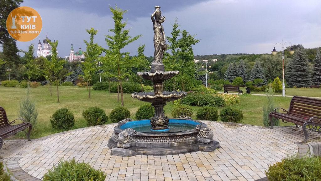 фонтан в парке Феофания