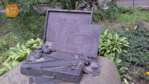 мольберт Шевченко в Аскольдовой могиле