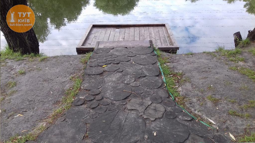 мостки для рыбаков