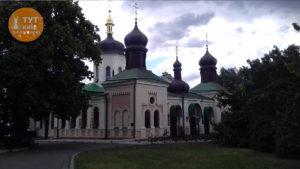 церковь в ботаническом саду