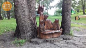 ведмеді парк Троєщина