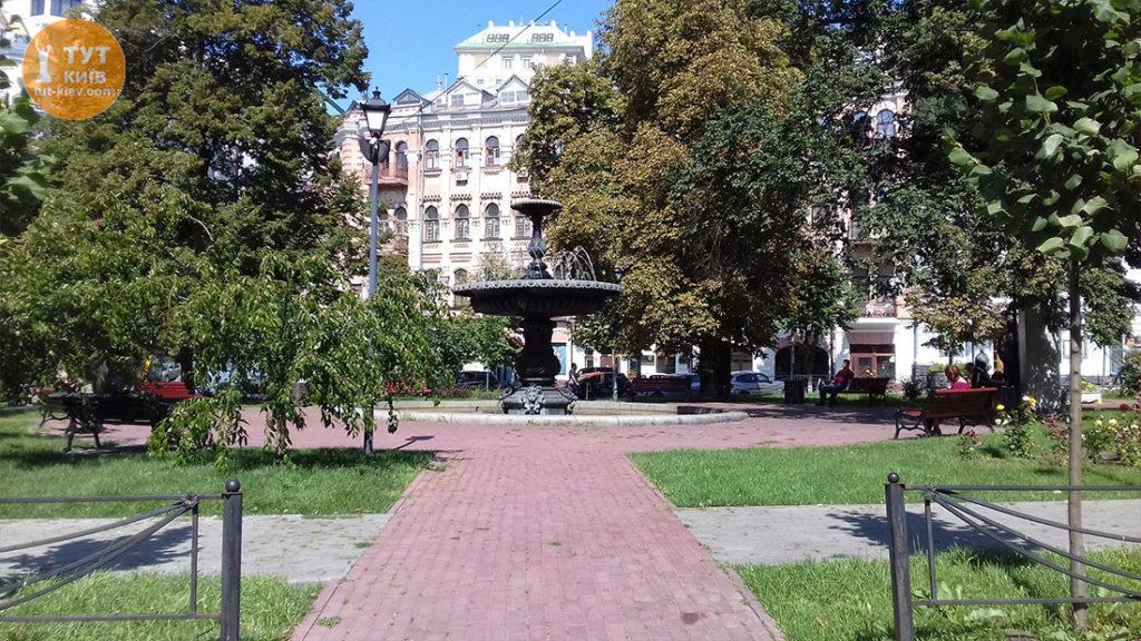 Фонтан площадь Франко