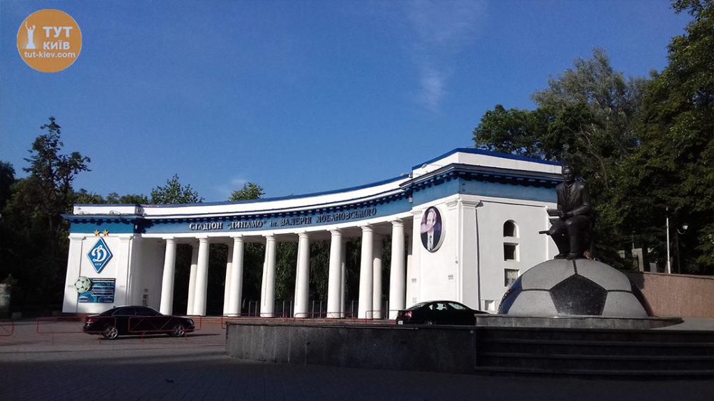 Лобановский у Динамо