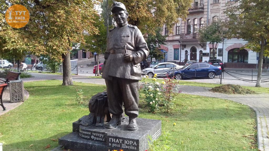 памятник Гната Юри
