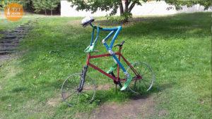 Велосипедист Співоче поле