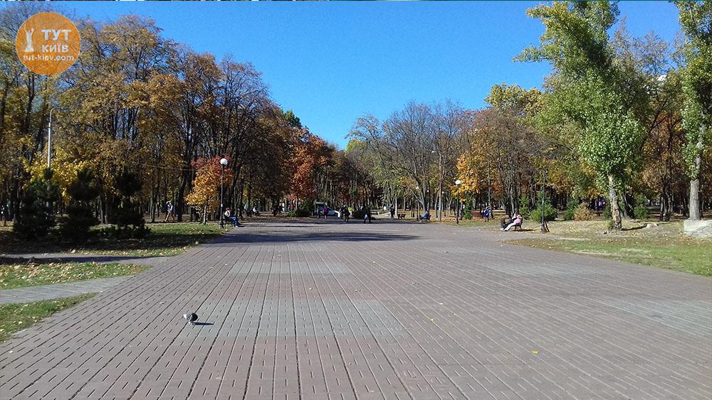 аллея парк Интернациональный