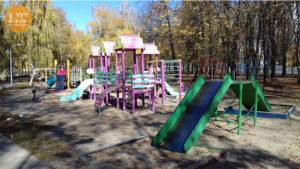 дитячий майданчик парк Юність