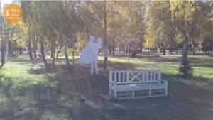 скамейки парк Юность