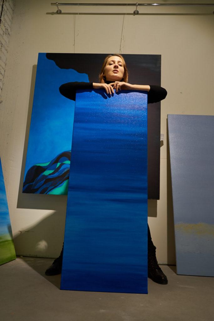 Лера Литвинова выставка