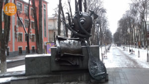 Скульптура Пилипа Орлика