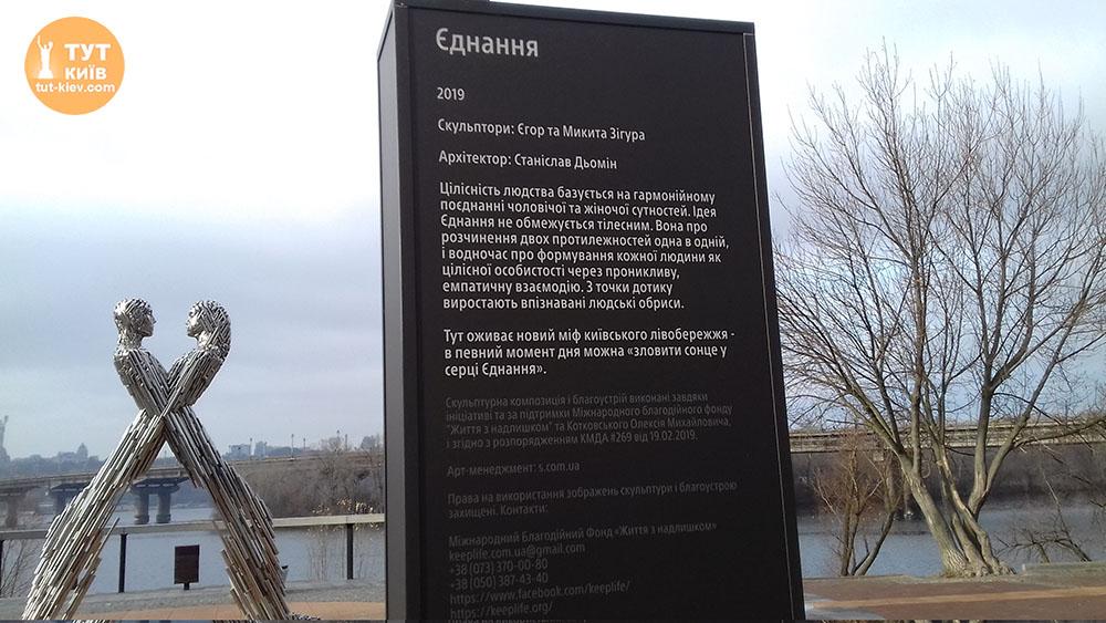 скульптура Єднання в Києві